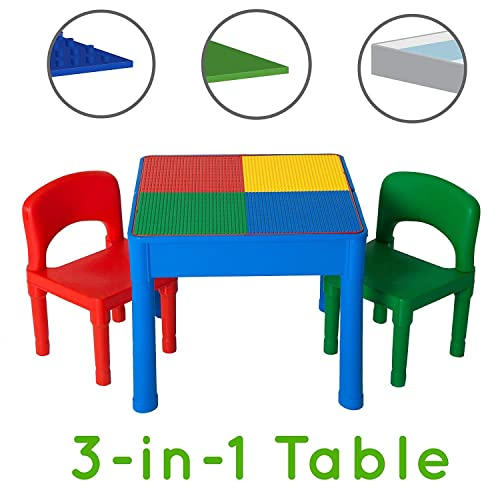 1b0f30bacf97b Play Platoon Kids Activity Table Set - 3 in 1 Water Table