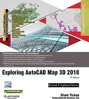Exploring AutoCAD Map 3D 2018, 8th Edition