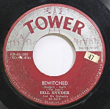Bill Snyder 45 RPM Bewitched / Drifting Sands