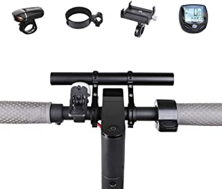 Atuka Manubrio Extender Bici prolunga per Bicicletta in Lega di Alluminio Space Saver per XIAOMI M365, Ninebot ES1 ES2, Mo...