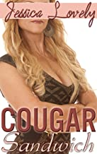 Double Stuffed Cougar Sandwich (Taboo Mature MILF Older Woman & Two Younger Men Menage Erotica)