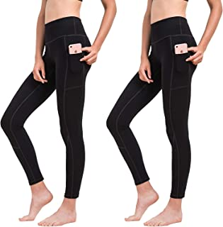 HOFI High Waist Yoga Pants for Women Side & Inner Pockets...