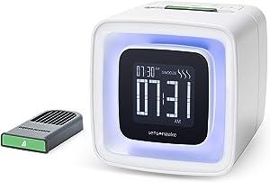 Sensorwake 2 - Réveil Sensoriel avec Parfum + Lumière + Mélodie - Des matins doux garantis - Une capsule menthe offerte - Réveil olfactif