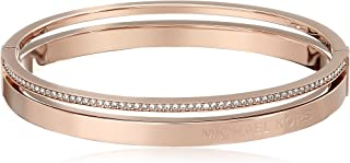 Women's Jewelry Hinged Rose Gold Bangle Bracelet (Model:...