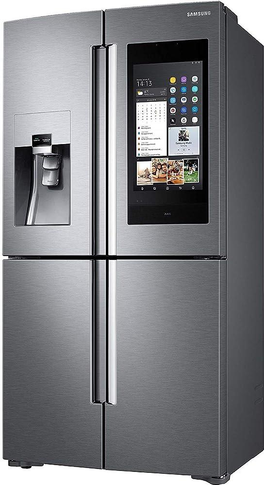 samsung , frigorifero 4 porte, 635  l , family hub akg rf56n9740sr/ef