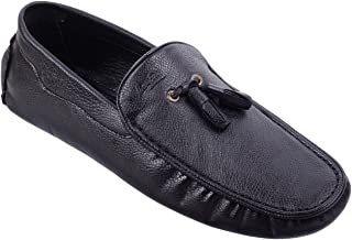 Leefox 600 Black Loafers