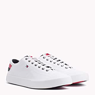Tommy Hilfiger-FM0FM01947-Men-Low Cut Sneakers-WHITE-43 EU