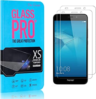 Screen Protector Compatible with Huawei Honor 5C, The Grafu Anti Fingerprint Tempered Glass Screen Protector, HD Screen Protector for Huawei Honor 5C, 2 Pack