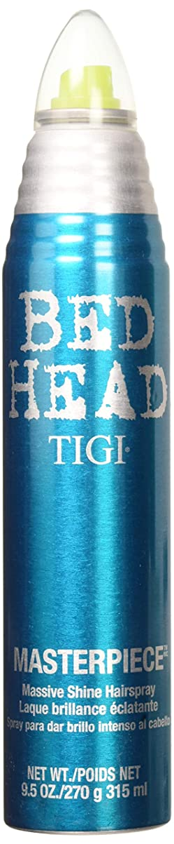 通路関与する滑るHairspray by Tigi Bed Head Hair Care Masterpiece - Massive shine hairspray 300ml