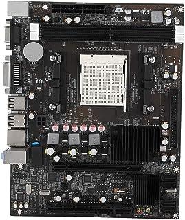 ASHATA Placa Base para Ordenador, Nuevo Placa Base Gaming, Placa Base Ordenador, Placa Base de la Computadora de Escritorio de Audio de 6 Canales para 2 Canales de Memoria DDR2 800 / 667MHz de 4GB
