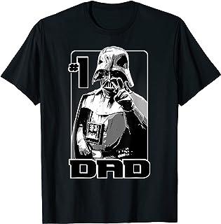 Star Wars Darth Vader Number One Dad Finger Point Camiseta