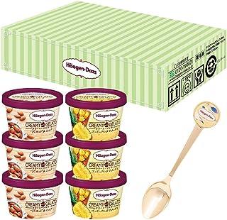 【Amazon.co.jp限定】 ハーゲンダッツ クリーミージェラートねり食べセット ×6個