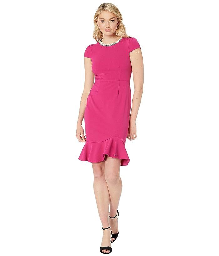 f52e01c464e5 Betsey Johnson Scuba Crepe Dress with Ruffled Hem at 6pm