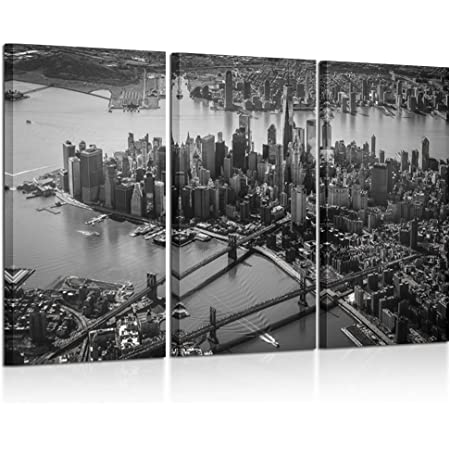 new york Quadro Stampa su tela canvas wall art framed print