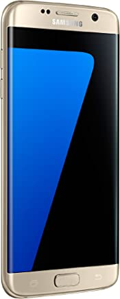 Samsung Galaxy S7 Edge Celular 32 GB Color Gold Desbloquedado (Unlocked) Reacondicionado (Renewed)