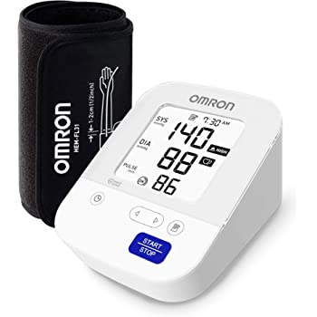 Omron Most Advance Digital Blood Pressure Monitor with 360° Accuracy Intelli Wrap Cuff for All Arm Sizes, Resulting Accurate Measurements (White)