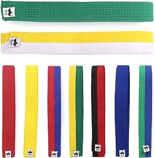 Mentin cinturón para Taekwondo Karate Judo 250cmx4cm 9Colores
