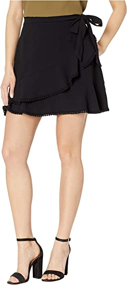 Zetta Faux Wrap Skirt
