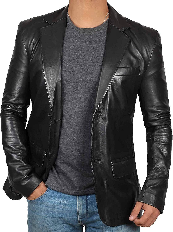 leather blazers