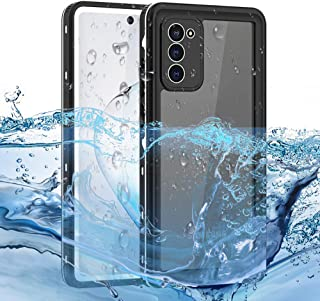 for Samsung Galaxy Note20 Case with Built-in Screen Protector Waterproof Shockproof Anti-Fall Non-Slip Robust Protection D...