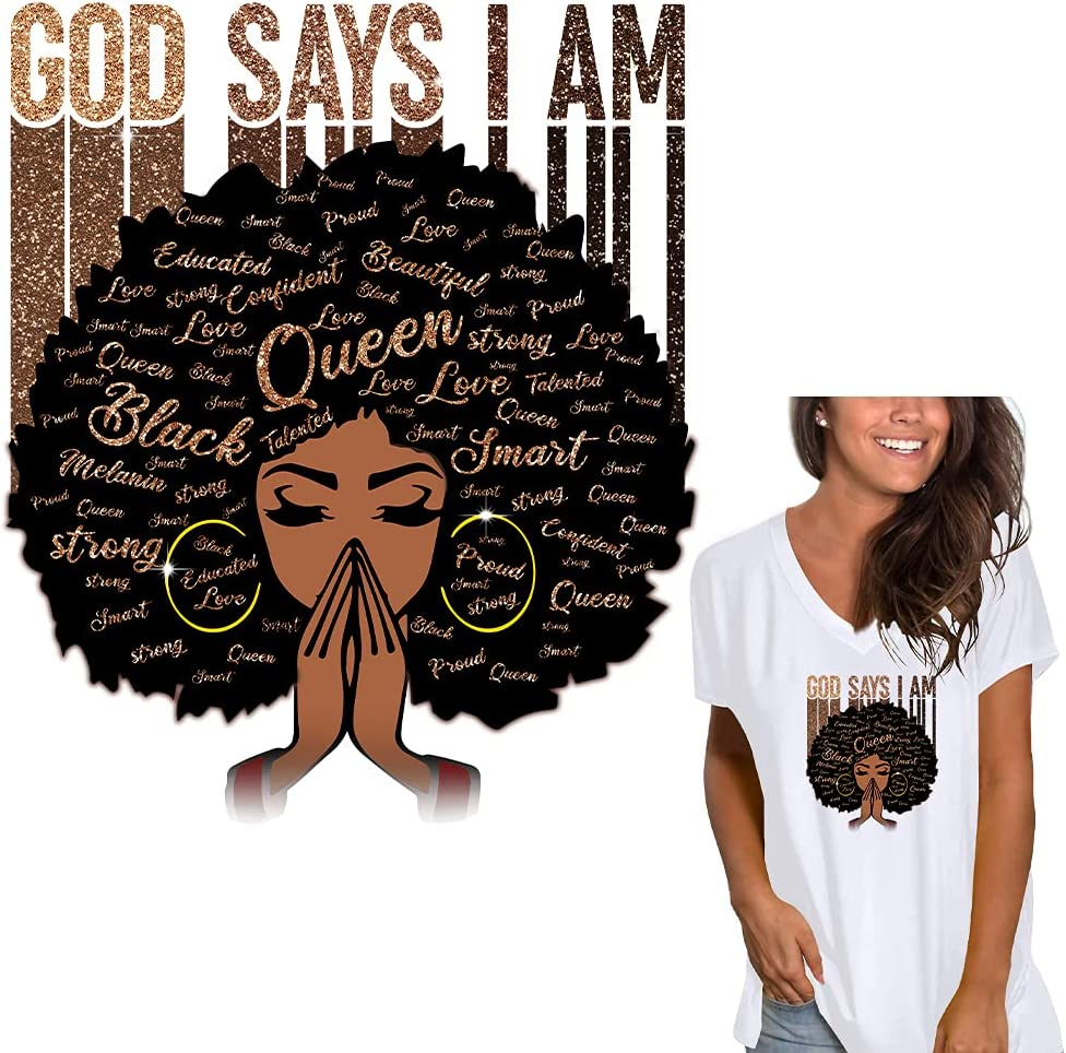DITALING 2021 Afro Women Iron 2021 On Design Clothing African for Patches