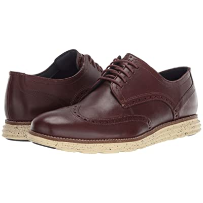 Cole Haan Original Grand Wingtip Oxford (Chestnut/Lambs Wool) Men