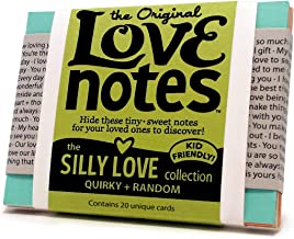 Original Love Notes - SILLY LOVE Collection - Sweet little handwritten-style cards to show your special people how you feel