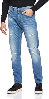 Tommy Hilfiger Straight Jeans for men in Denim, Size:35inches