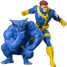 Kotobukiya MarvelUniverseCyclops&BeastTwoPackArtfx Collectible Statue