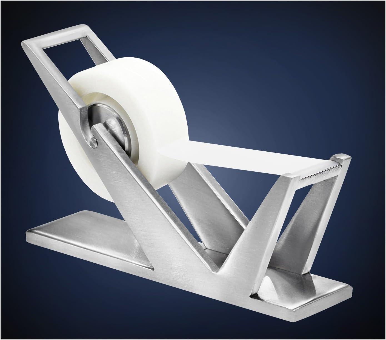 ArtsOnDesk Modern Many popular brands Over item handling ☆ Art Tape Dispenser Stainless - Steel Sat St202