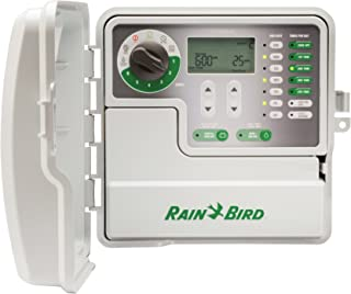Rain Bird SST600OUT Simple-to-Set Indoor/Outdoor Sprinkler/Irrigation Timer/Controller, 6-Zone/Station (This New/Improved ...