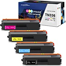 GPC Image Remanufactured Toner Cartridge Replacement for Brother TN336 TN315 TN310 TN331 Toner Cartridge to use with MFC-L8600CDW MFC-L8850CDW HL-L8350CDW HL-L8350CDWT HL-4150CDN MFC-9970CDW (4-Pack)
