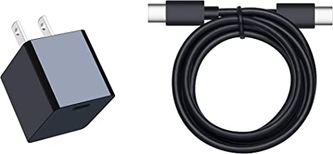 15W Type-C Wall Charger with USB-C Cable for Fire HD 10