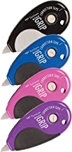 Tombow 68762 MONO Top Action Grip Correction Tape, Assorted Colors, 4-Pack. Easy To Use Applicator with Grip for Instant Corrections