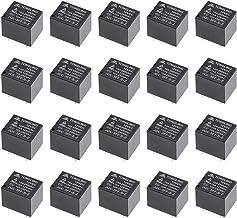 uxcell 20 Pcs JQC-3FF-S-Z DC 12V Coil SPDT 5P PCB Electromagnetic Power Relay Black Color