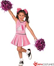 Morph Uniforme de Animadora campeona en Rosa para niñas Disfraz Carnevale - Grande - (9 - 11 años)