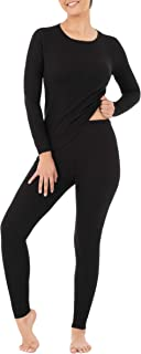 Fruit of the Loom womens Micro Waffle Premium Thermal Set