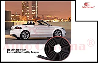 Auto Oprema Samurai Black Fiber Car Body Kit Bumper Lip Side Skirt Rubber Edge Decorative Protector
