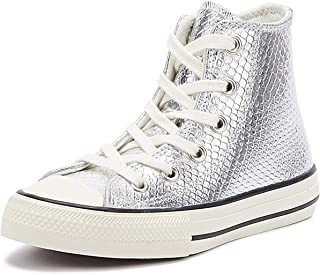 Converse Chuck Taylor all Star Youth Argento Hi Sneaker