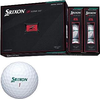 ダンロップ ゴルフボール SRIXON Z-STAR XV 2021年モデル 1ダース(12個入り) ロイヤルグリーン SNZSXV7GRN