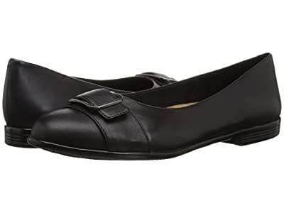 Trotters Aubrey (Black Soft Nappa Leather) Women