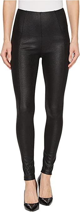 Liverpool - Reese Ankle Leggings in Reptile/Black