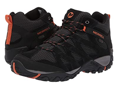 Merrell Alverstone Mid Waterproof (Black) Men