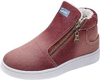 Maximum des Chaussures d'hiver Femme élégante-Chaussures Simples Femme-Bottes De Neige d'hiver épaississent Les Chaussures...
