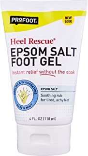 Profoot Epsom Salt Foot Rub Gel, 4 Fl Oz