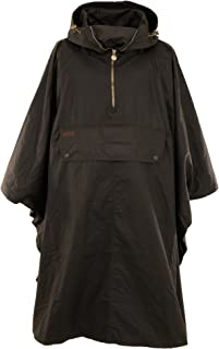 Outback Trading Co Packable Unisex Poncho Brown Oilskin 12 Oz