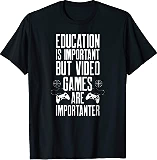 Gaming Gamer T-Shirt Funny Video Game Shirts