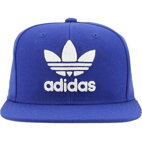 adidas a blue and bianca flex hats