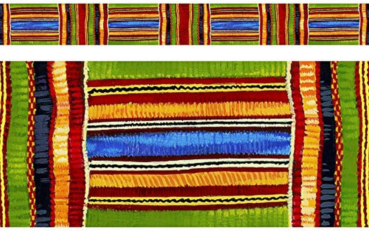 TREND enterprises Inc. Kente Bolder Cloth Selling and safety selling 35.75' Borders