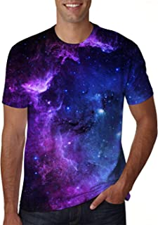 Unisex 3D Creative Print Short Sleeve T-Shirt Casual Graphic Tees